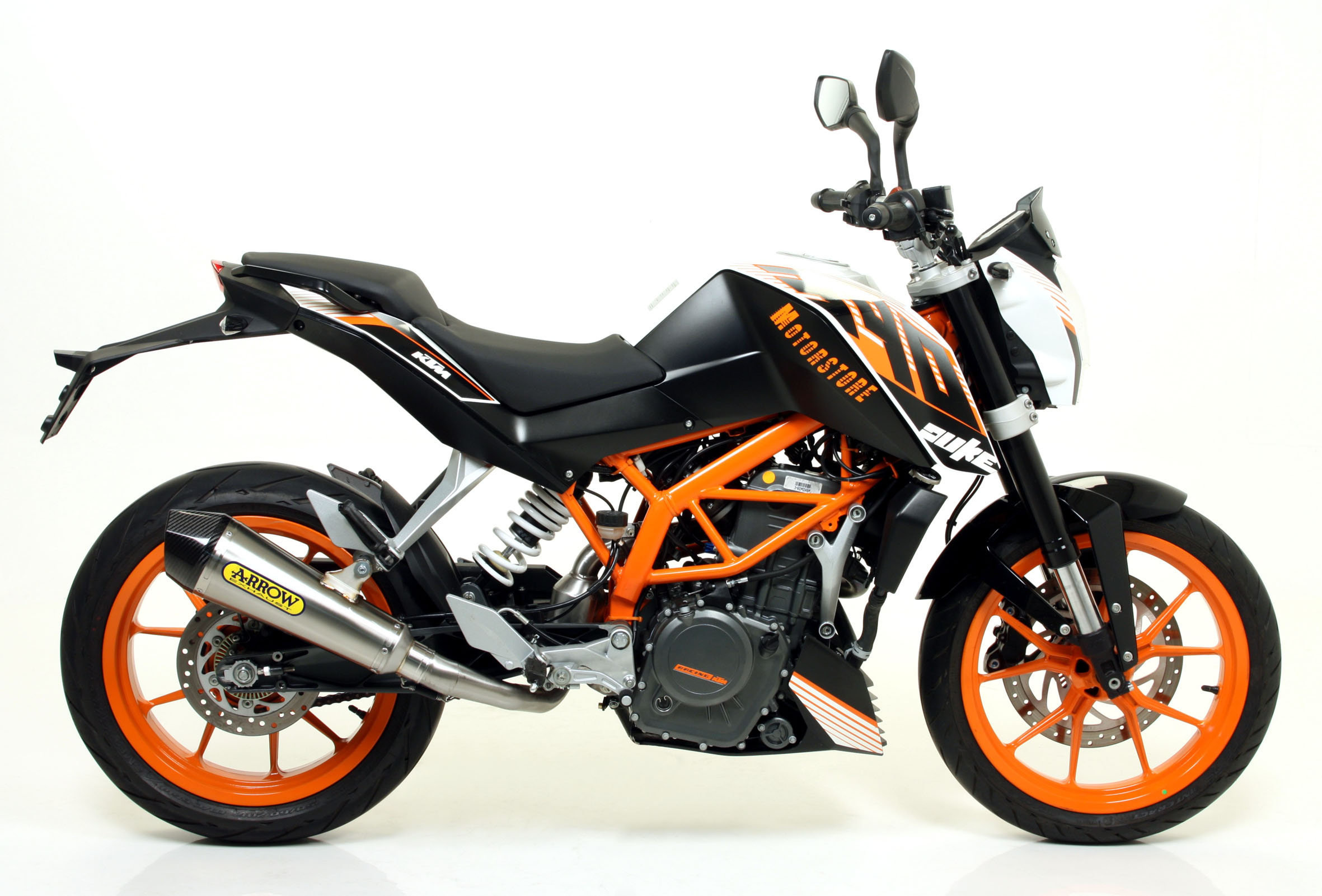 migtec ktm powerparts powerwear duke 125 390. Black Bedroom Furniture Sets. Home Design Ideas